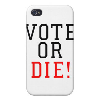 Vote or Die! Cover For iPhone 4