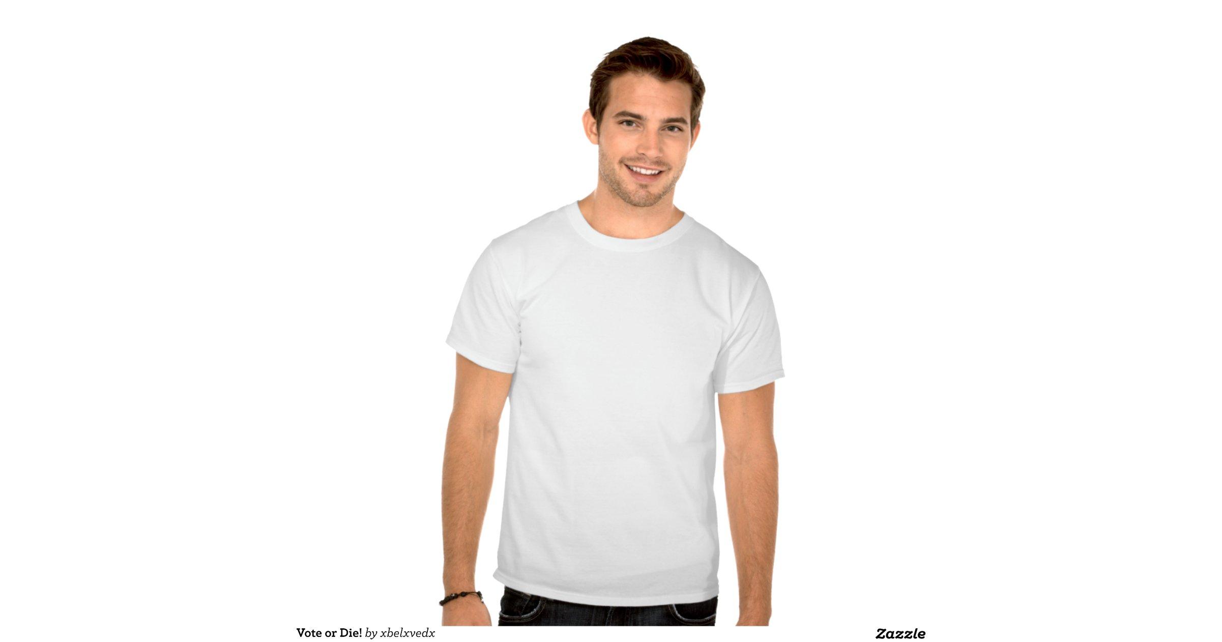 Vote or Die Shirt Vote or Die Tee Shirt |