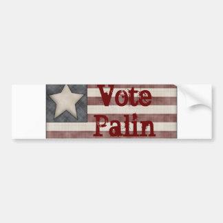 Vote Palin Bumper Sticker