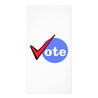 Vote Custom Photo Card
