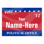 VOTE - Political Campaign Pack Of Chubby Business Cards
