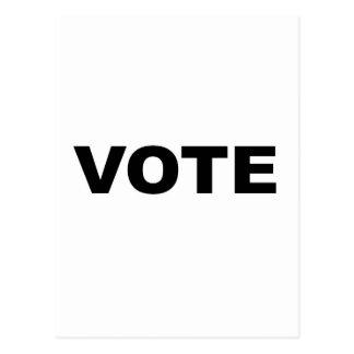 VOTE POSTCARD