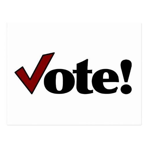 Vote! Post Cards