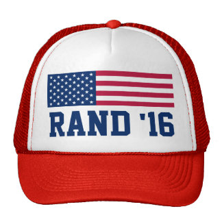 Vote Rand Paul 2016 American Flag Cap