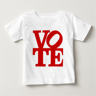 VOTE (red) Baby T-Shirt