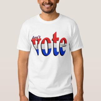 vote red white blue 1 shirts