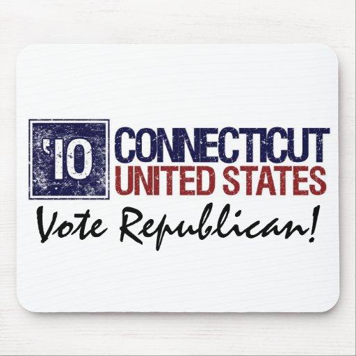 Vote Republican in 2010 – Vintage Connecticut Mouse Pad