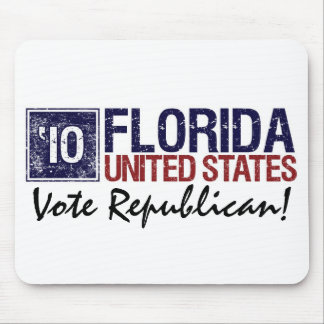 Vote Republican in 2010 – Vintage Florida Mouse Pad