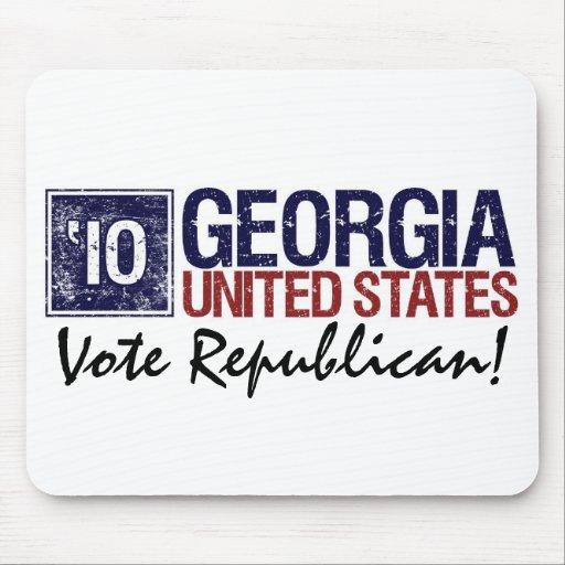 Vote Republican in 2010 – Vintage Georgia Mouse Pad