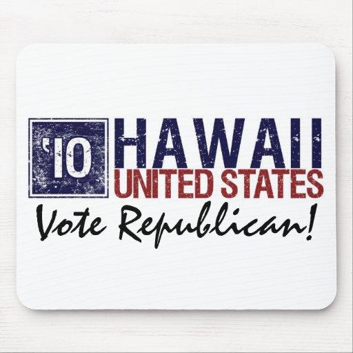 Vote Republican in 2010 – Vintage Hawaii Mousepad