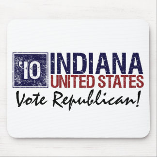 Vote Republican in 2010 – Vintage Indiana Mouse Pad