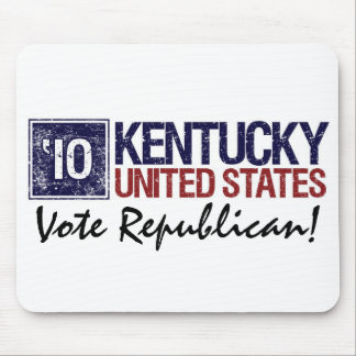 Vote Republican in 2010 – Vintage Kentucky Mouse Pad