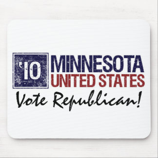 Vote Republican in 2010 – Vintage Minnesota Mouse Pad