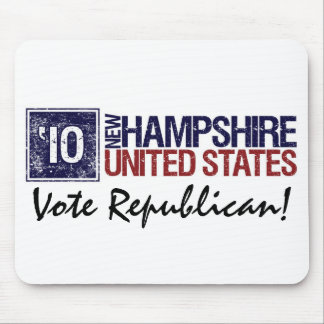 Vote Republican in 2010 – Vintage New Hampshire Mouse Pad