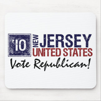 Vote Republican in 2010 – Vintage New Jersey Mouse Pad