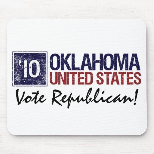 Vote Republican in 2010 – Vintage Oklahoma Mousepad