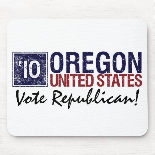 Vote Republican in 2010 – Vintage Oregon Mouse Pad