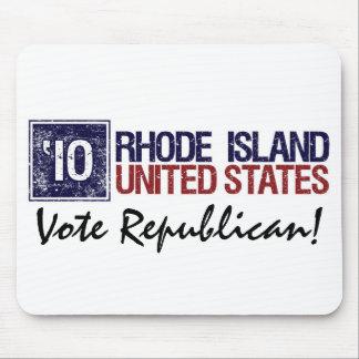 Vote Republican in 2010 – Vintage Rhode Island Mouse Pad