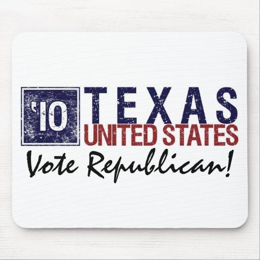 Vote Republican in 2010 – Vintage Texas Mousepad