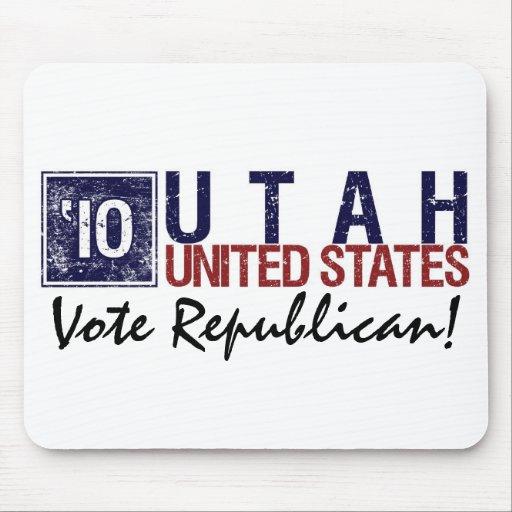 Vote Republican in 2010 – Vintage Utah Mousepads