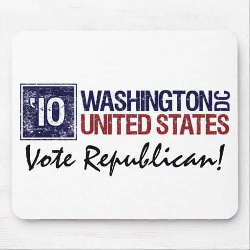 Vote Republican in 2010 – Vintage Washington DC Mousepad