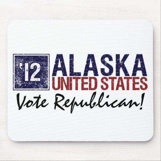 Vote Republican in 2012 – Vintage Alaska Mouse Pad