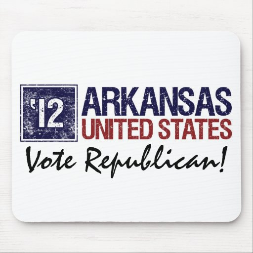 Vote Republican in 2012 – Vintage Arkansas Mousepad