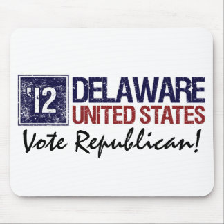Vote Republican in 2012 – Vintage Delaware Mouse Pad