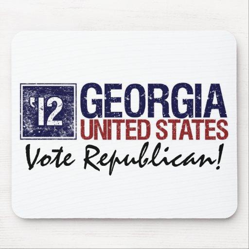 Vote Republican in 2012 – Vintage Georgia Mousepads