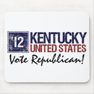 Vote Republican in 2012 – Vintage Kentucky Mouse Pad