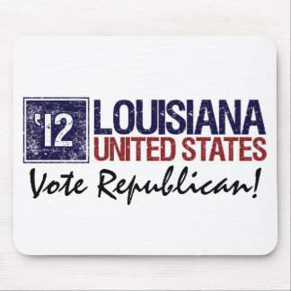Vote Republican in 2012 – Vintage Louisiana Mouse Pad