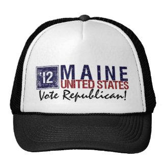 Vote Republican in 2012 – Vintage Maine Hats