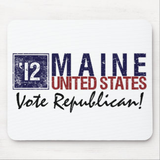 Vote Republican in 2012 – Vintage Maine Mouse Pad