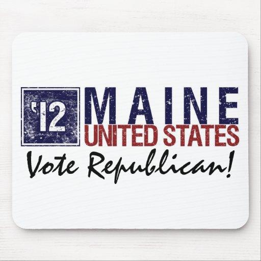 Vote Republican in 2012 – Vintage Maine Mousepad