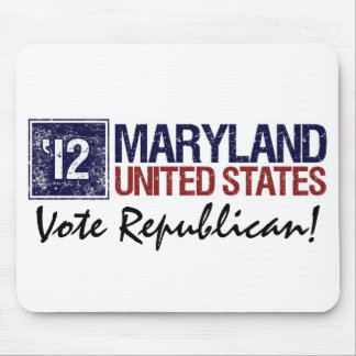 Vote Republican in 2012 – Vintage Maryland Mouse Pads