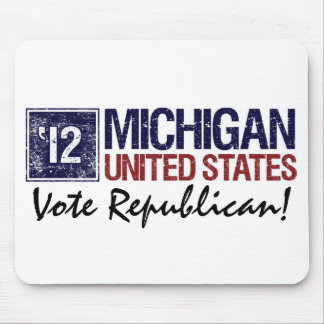 Vote Republican in 2012 – Vintage Michigan Mousepads