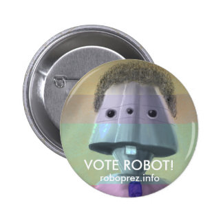 Vote Robot! Swanky Button