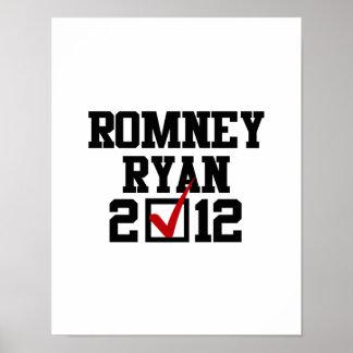 VOTE ROMNEY RYAN 2012 POSTER