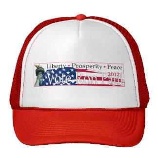 Vote Ron Paul '12 Hat