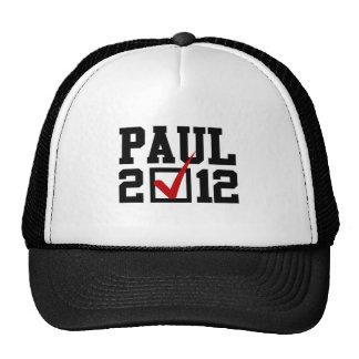 VOTE RON PAUL 2012 CAP