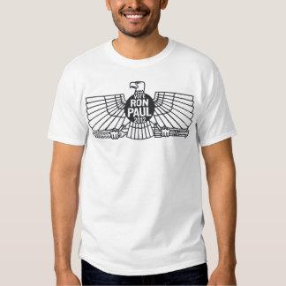 Vote Ron Paul Carbon Eagle T Shirts