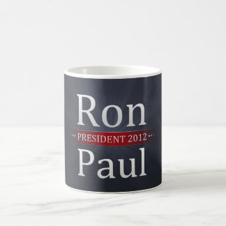 Vote Ron Paul for President in 2012 Classic White Coffee Mug