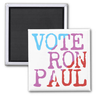 Vote Ron Paul for President Square Magnet