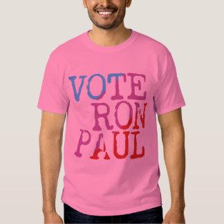 Vote Ron Paul for President Tshirts