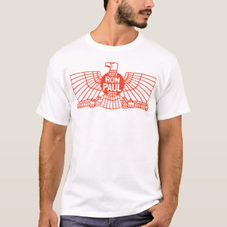 Vote Ron Paul Inked Eagle T-Shirt