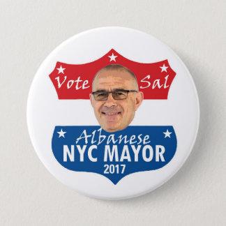 Vote Sal Albanese 7.5 Cm Round Badge