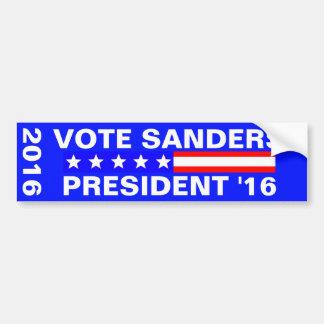 Vote Sanders 2016 Presidential Election Bumper Sticker