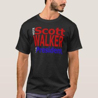 Vote Scott Walker For President T-Shirt