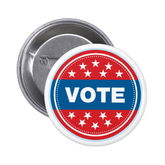 Vote Seal - Blue Pin