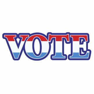 Vote Standing Photo Sculpture